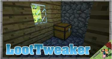 LootTweaker Mod 1.12.2/1.11.2/1.10.2 For Minecraft