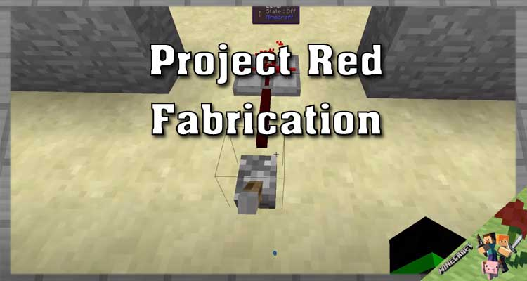 Project Red - Fabrication Mod 1.12.2/1.10.2/1.7.10 For Minecraft