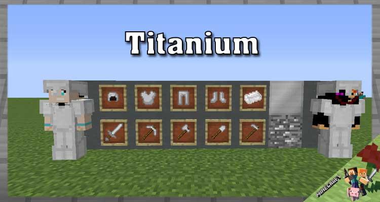 Titanium Mod 1.16.5/1.15.2/1.10.2 For Minecraft